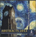 Abstracts 2013: Highlights of Student Research and Creative Endeavors