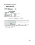 Bicarb Exp Algal Mass Statistics