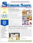Simon Says (Fall 2009) by Giselle Remy Bratcher, Paula Adams, Jacqueline Radebaugh, and Michelle Jones