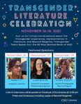 Transgender Literature Celebration Poster