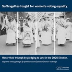 Suffragettes Fought for Women's Voting Equality