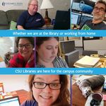 CSU Libraries is Here for the Campus Community