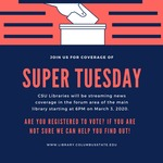 Super Tuesday Streaming Coverage