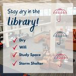 Stay Dry in the Library