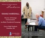 African American Portraits of Leadership:  Kamau Marshall
