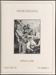 Muscogiana Vol. 23(1), Spring 2012 by Mimi P. Childs