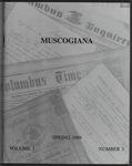 Muscogiana Vol. 1(1), Spring 1989