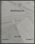 Muscogiana Vol. 1(2), Fall 1989