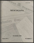 Muscogiana Vol. 1(3),Summer 1990