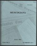 Muscogiana Vol. 3(3&4), Fall 1992