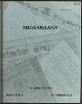 Muscogiana Vol. 4(1&2), Summer 1993