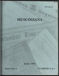 Muscogiana Vol.4(3&4), Fall 1993 by John R. Lassiter
