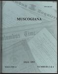 Muscogiana Vol.4(3&4), Fall 1993