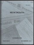 Muscogiana Vol. 5(1&2), Summer 1994 by John R. Lassiter