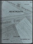 Muscogiana Vol. 5(3&4), Fall 1994 by John R. Lassiter