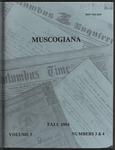 Muscogiana Vol. 5(3&4), Fall 1994