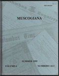 Muscogiana Vol. 6(1&2), Summer 1995 by Ronny Bodine