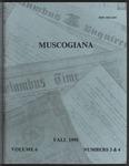 Muscogiana Vol. 6(3&4), Fall 1995