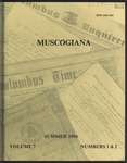 Muscogiana Vol. 7(1&2), Summer 1996 by Callie McGinnis