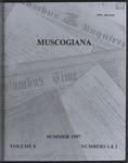 Muscogiana Vol. 8(1&2), Summer 1997