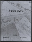 Muscogiana Vol. 8(3&4), Fall 1997 by Callie McGinnis