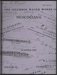 Muscogiana Vol. 10(1&2), Summer 1999