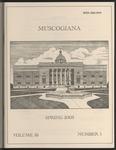 Muscogiana Vol. 16(1), Spring 2005