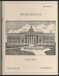 Muscogiana Vol. 16(2), Spring 2005 by Dr. Hugh I. Rodgers
