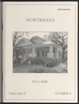 Muscogiana Vol. 17(2), Fall 2006 by Reagan L. Grimsley