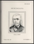Muscogiana Vol. 19(2), Fall 2008 by Gary S. Sprayberry