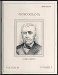 Muscogiana Vol. 19(2), Fall 2008