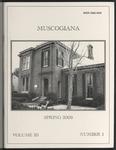 Muscogiana Vol. 20(1), Spring 2009