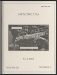 Muscogiana Vol. 20(2), Fall 2009 by Gary S. Sprayberry