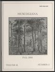 Muscogiana Vol. 21(2), Fall 2010