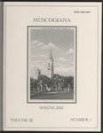 Muscogiana Vol. 22(1), Spring 2011 by Gary S. Sprayberry