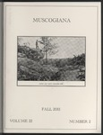 Muscogiana Vol. 22(2), Fall 2011 by Dr. Hugh I. Rodgers