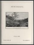 Muscogiana Vol. 22(2), Fall 2011