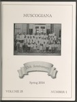 Muscogiana Vol. 25(1), Spring 2014