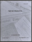 Muscogiana Vol. 9(1&2), Summer 1998 by Callie McGinnis