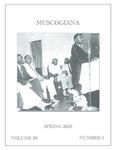 Muscogiana Vol. 29(1), Spring 2018